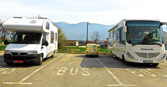 バンとバスと乗用車