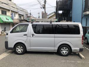 【買取事例】ハイエースバン平成21年ADF-KDH201V大阪府