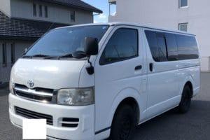 【買取事例】ハイエースバン平成18年KR-KDH205V広島県
