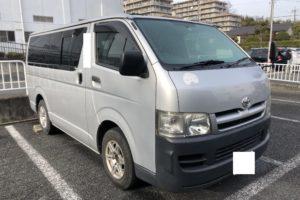 【買取事例】ハイエースバン平成18年KR-KDH200V大阪府